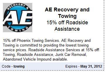Tempe Roadside Assistance Coupon